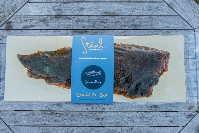 Staal Smokehouse Gravadlax whole side