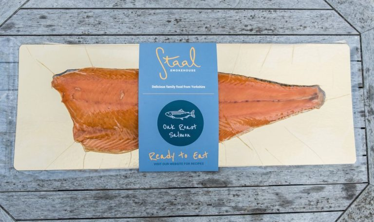 Staal Smokehouse Oak Roast Salmon whole side