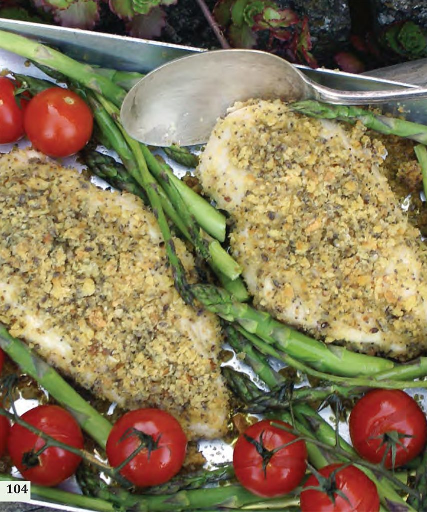 Yorkshire Rapeseed Oil Baked Chicken with Smoked Crumb Crust