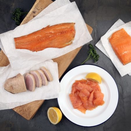 smoked fish and smoked poultry