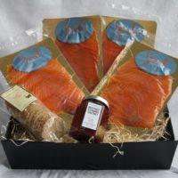 smoked salmon hamper