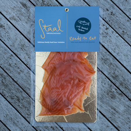 Staal Cold Smoked Salmon Slices