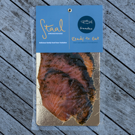 Staal Smokehouse Gravadlax Slices