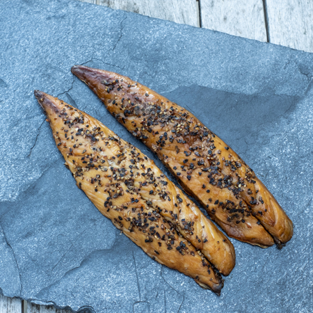 Staal Smokehouse peppered smoked mackerel