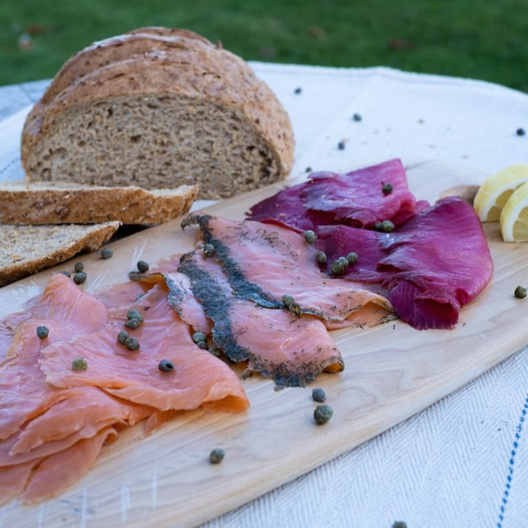 Staal Smokehouse salmon 3 ways